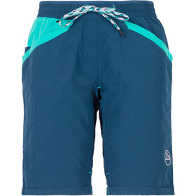 La Sportiva Ramp Spodnie krótkie Kobiety, opal/aqua